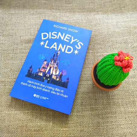 "Review Sách ""Disney's Land"""