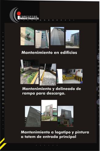 MTTO EDIFICIOS, ESTRUCTURAS Y NAVES INDUSTRIALES.