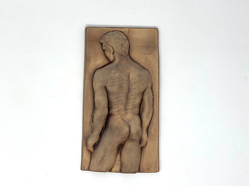 Plaque - Male Nude