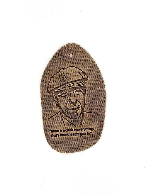 Plaque - Leonard Cohen