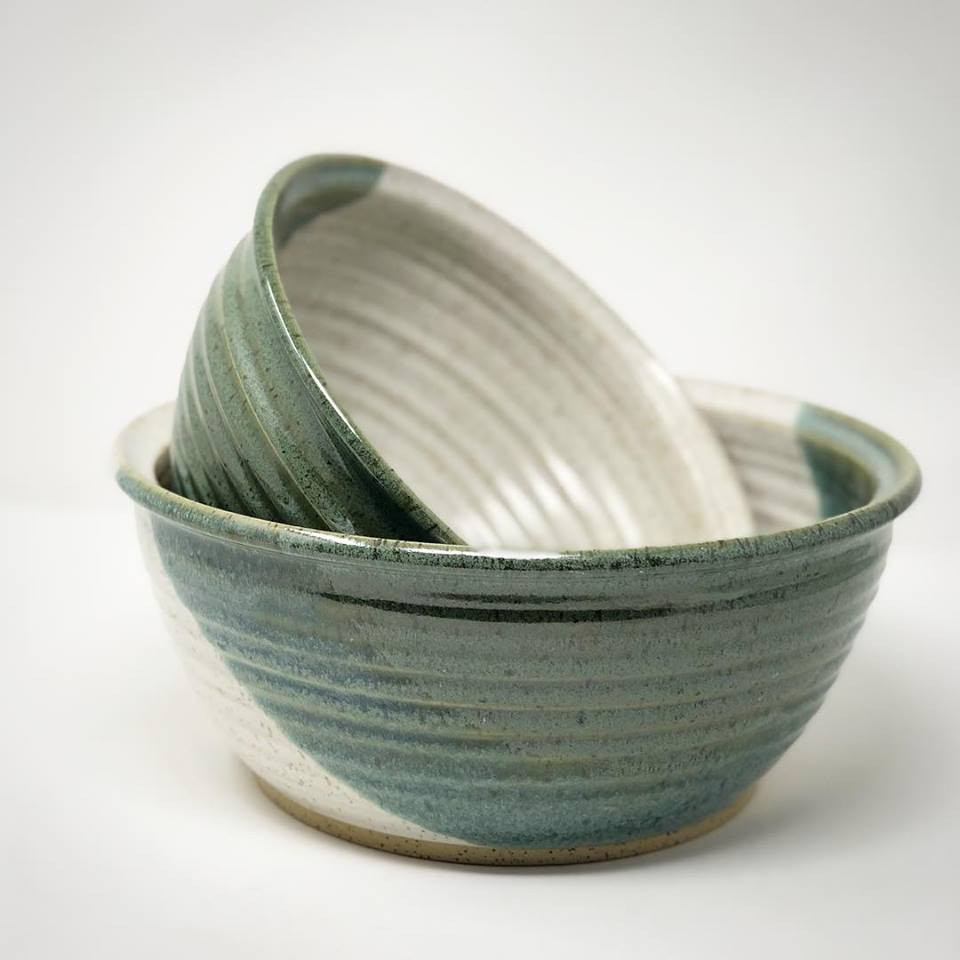 Green Dip Salad Bowls - Regular and Small