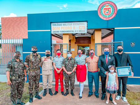 Visita institucional do General de Exército Theophilo e General de Brigada Marcelo