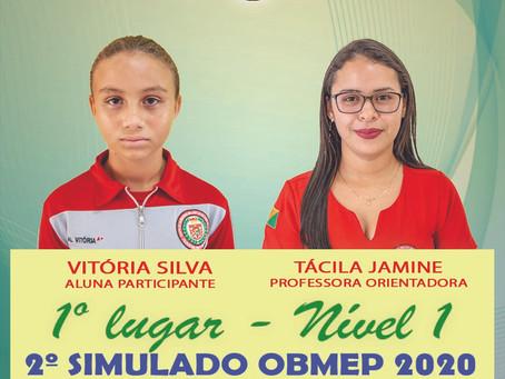 Estudantes do Colégio Militar Dom Pedro II/CZS se destacam no 2º simulado da OBMEP 2020.