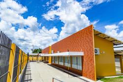 Pavilhão administrativo.