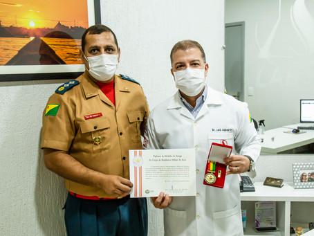 Entrega da Medalha Amigo do Corpo de Bombeiros Militar do Estado do Acre