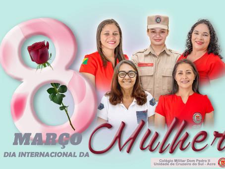 08 de março Dia Internacional da Mulher