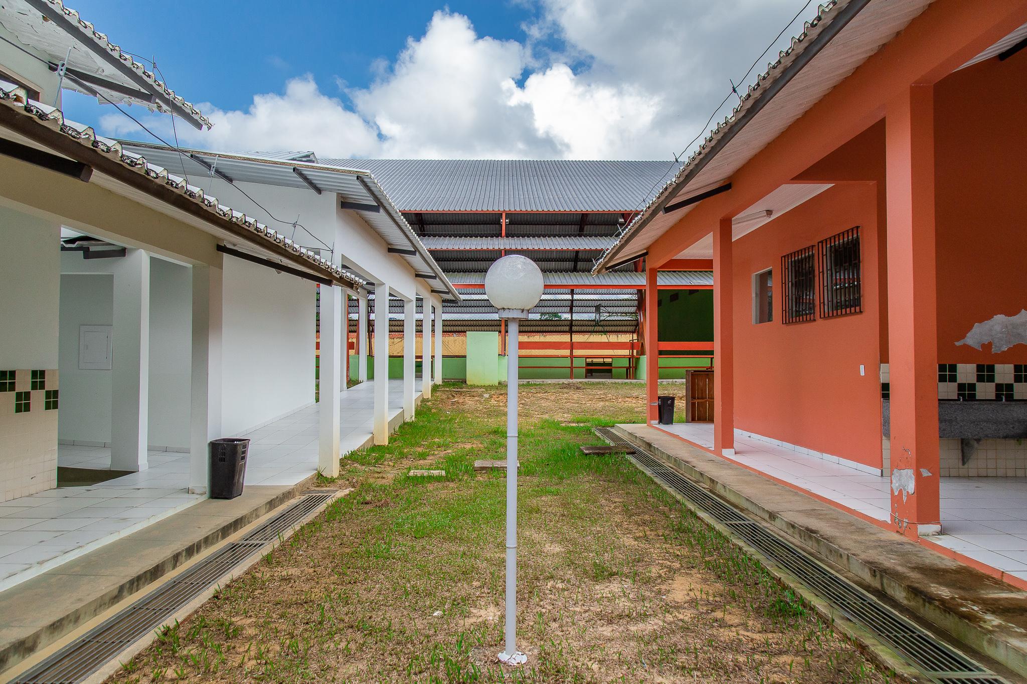 Vista interna do Colégio.