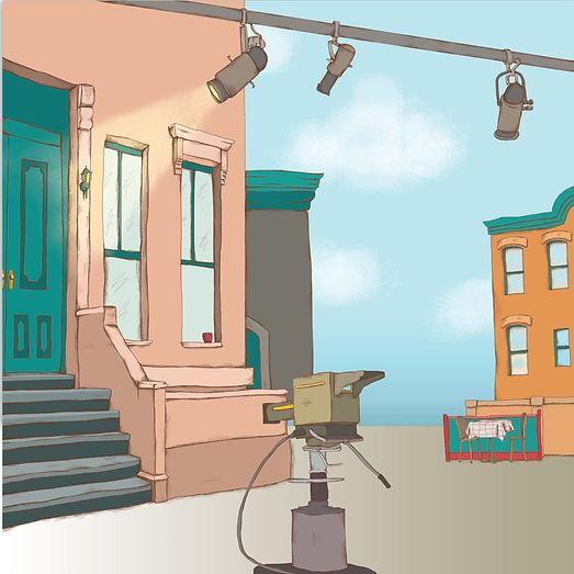 Sesame Street set