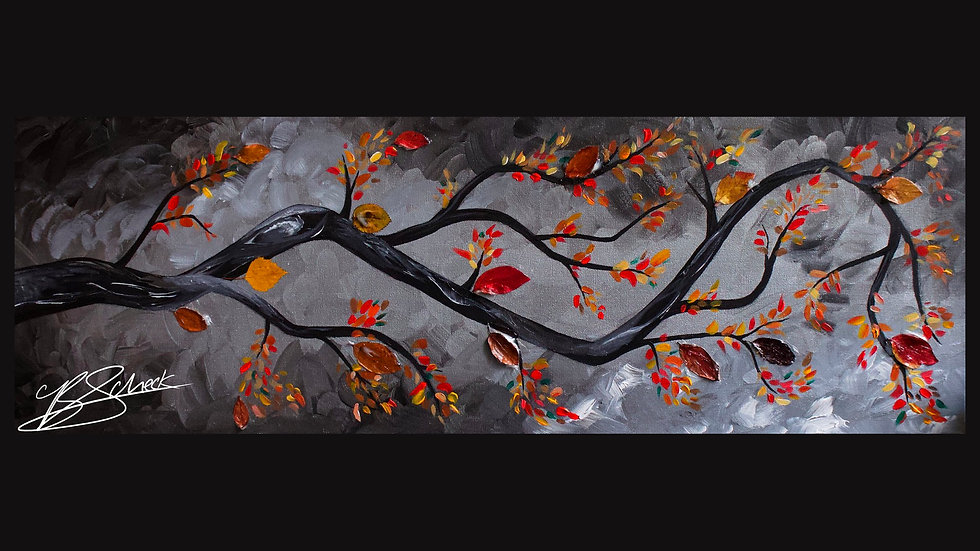 Fall Branch Painting