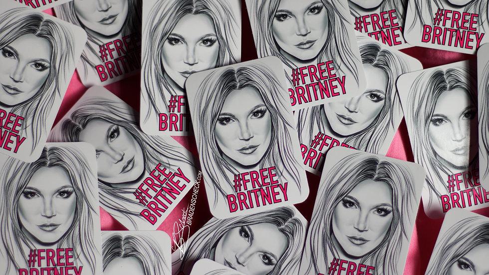 #FreeBritney Stickers