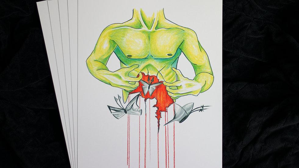 Anxiety Art Print