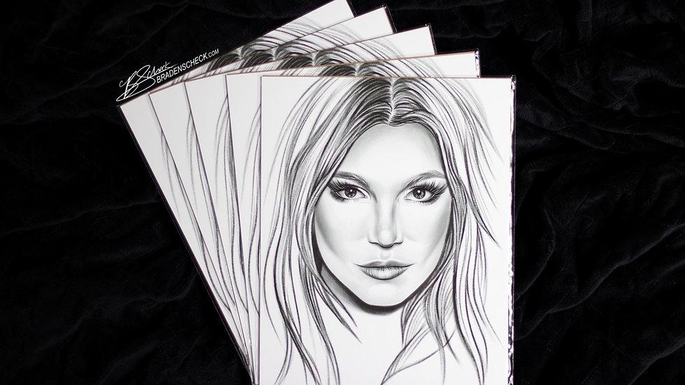 Britney Print