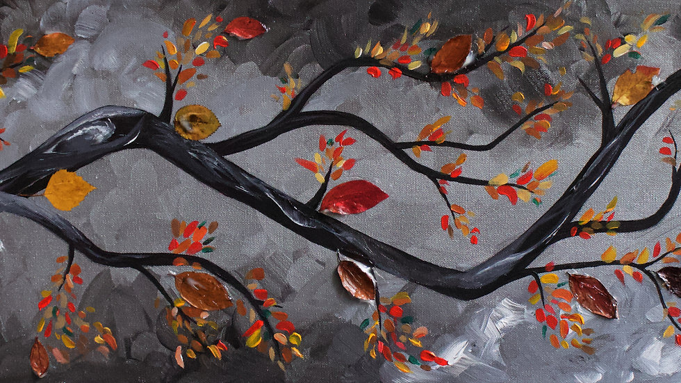 Fall Branch - Painting