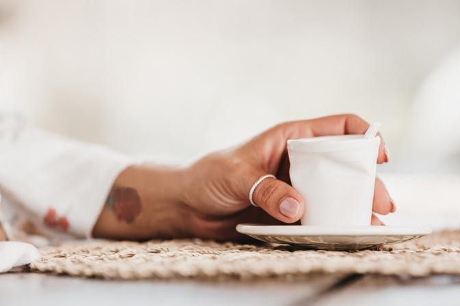 Copo de café