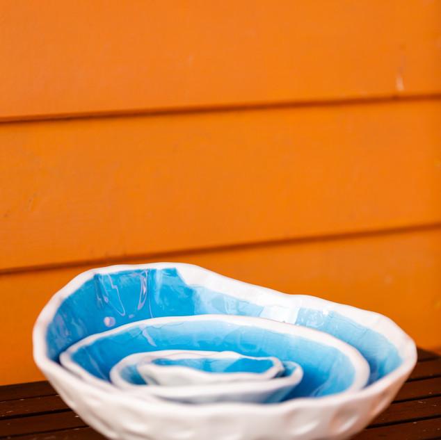 taça batida azul