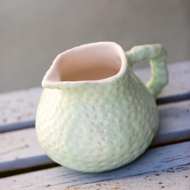 jarro ananás verde água