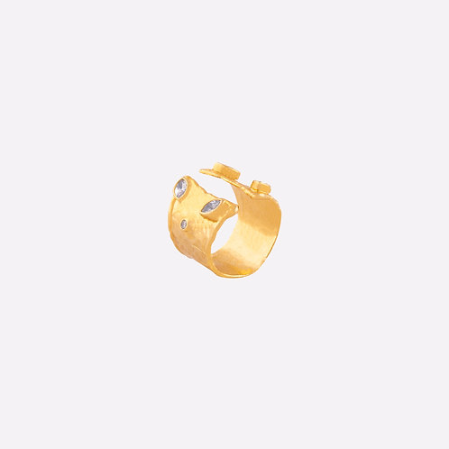 OPHELIA   Altın Kaplama Kararmaz Bronz Figür Yüzük