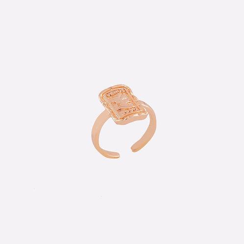 VENUS | Altın Kaplama Çelik Yüzük