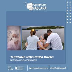Thiciane Nogueira Kinjo - Técnica de Enfermagem