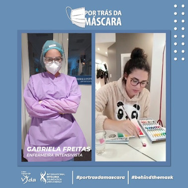 Gabriela Freitas - Enfermeira Intensivista
