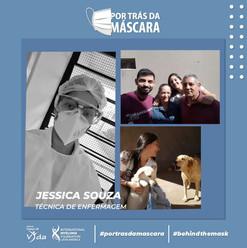 Jessica Souza - Técnica de Enfermagem
