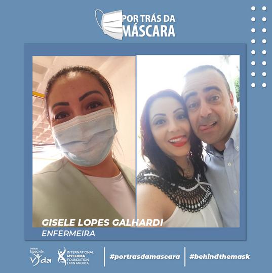 Gisele Lopes Galhardi - Enfermeira