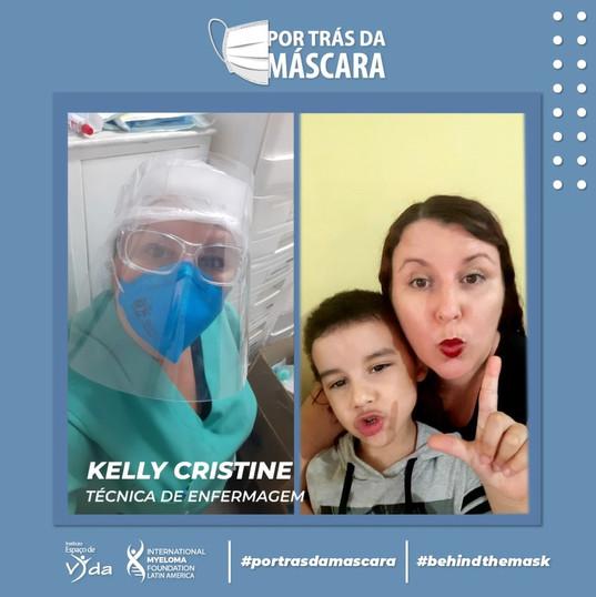 Kelly Cristine - Técnica de Enfermagem