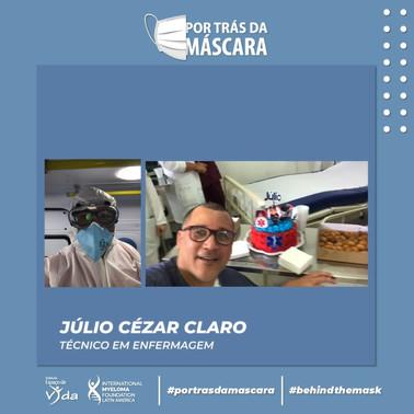 Julio Cezar Claro - Técnico em Enfermagem