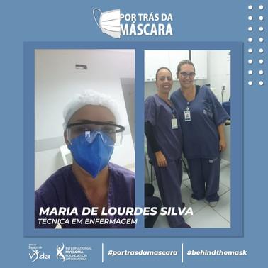 Maria de Lourdes Silva - Técnica em Enfe