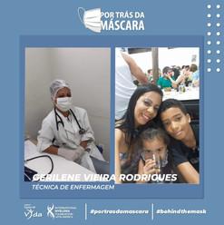 Gerilene Vieira Rodrigues - Técnica de Enfermagem