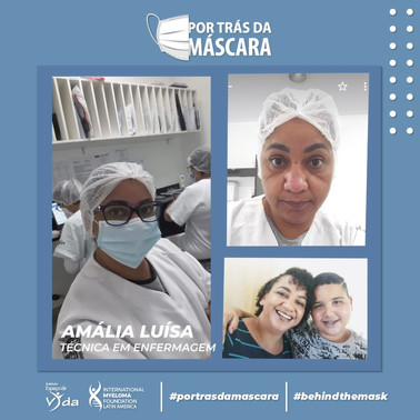 Amália Luísa - Técnica em Enfermagem
