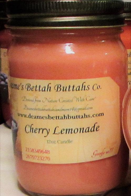 Cherry Lemonade Soy Candle