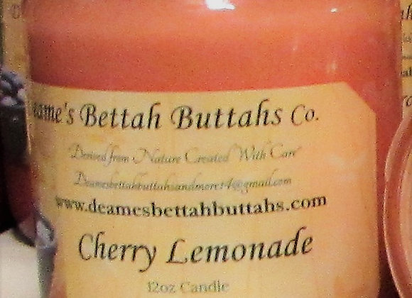Cherry Lemonade Soy Candle