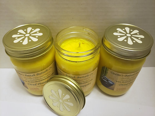Diced Pineapples Soy Candle