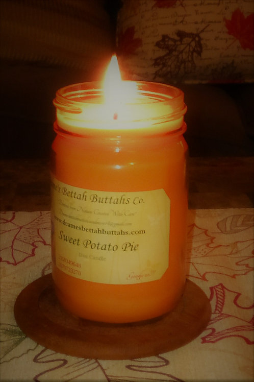 Sweet Potato Pie Soy Candle