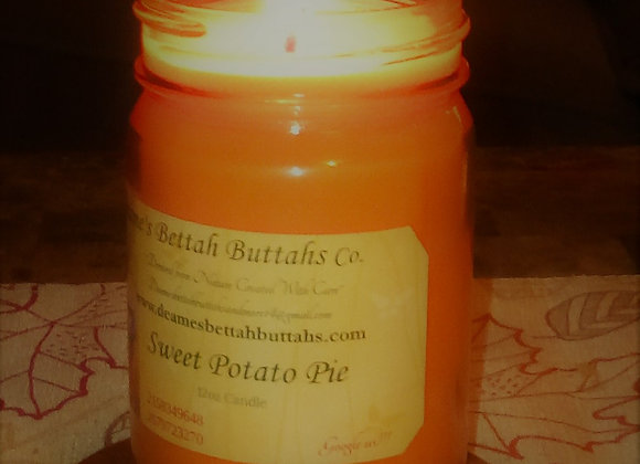 Sweet Potato Pie Soy Candle