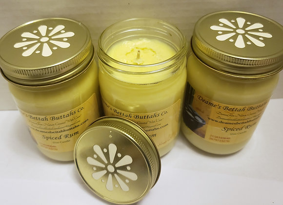 Spiced Rum Soy Candle