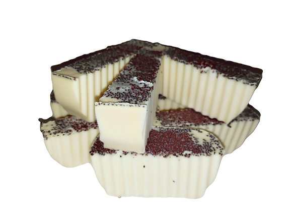 Crushed Cranberries Goats Milk Soap