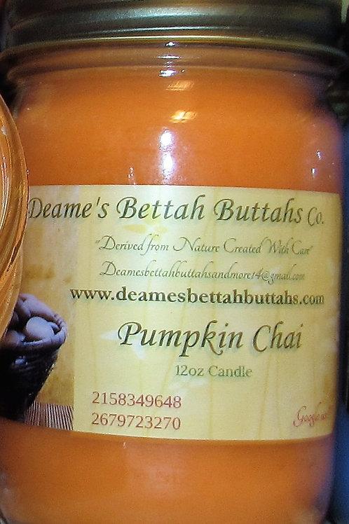 Pumpkin Chai Soy Candle