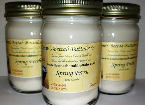 Spring Fresh Soy Candle