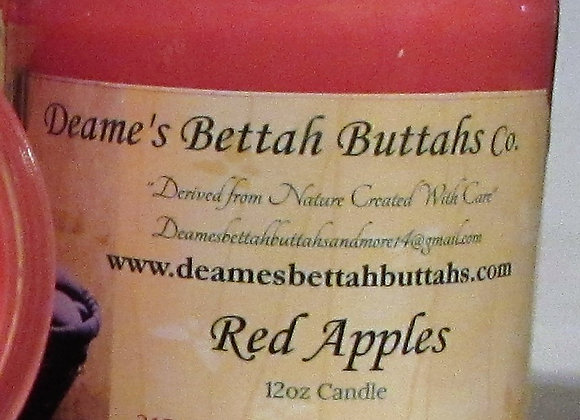 Red Apples Soy Candle