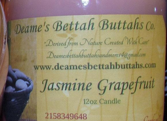 Jasmine Grapefruit Soy Candle