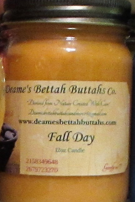 Fall Day Soy Candle