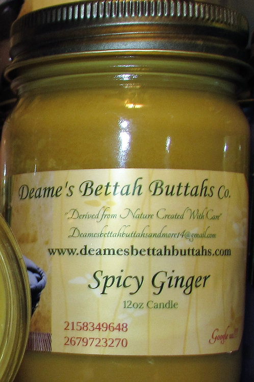 Spicy Ginger Soy Candle