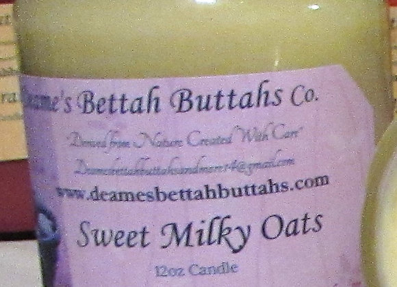 Sweet Milky Oats Soy Candle