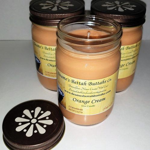 Orange Cream Soy Candle
