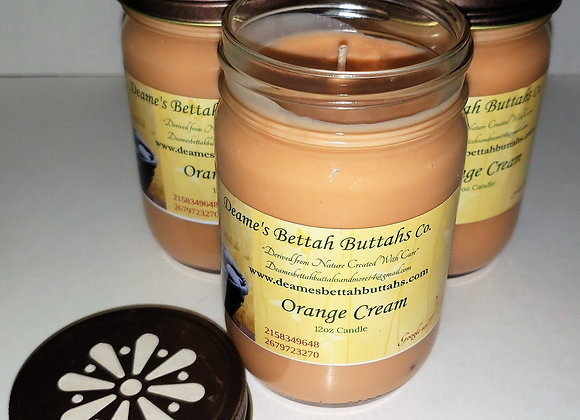 Orange Cream Soy Candle