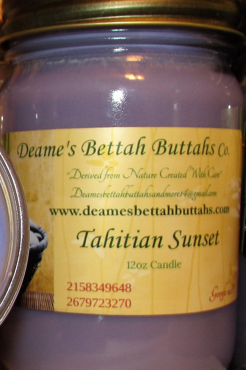 Tahitian Sunset Soy Candle