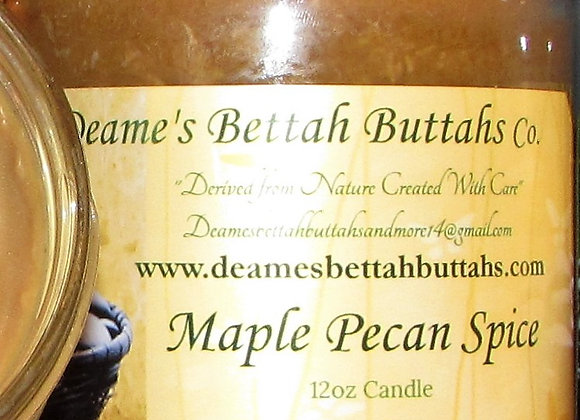 Maple Pecan Spice Soy Candle