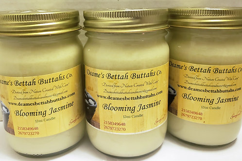 Blooming Jasmine Soy Candle